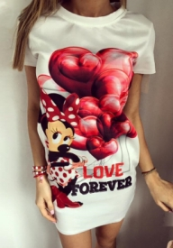 Unique Fashion - OBLEKA FOREVER HEART